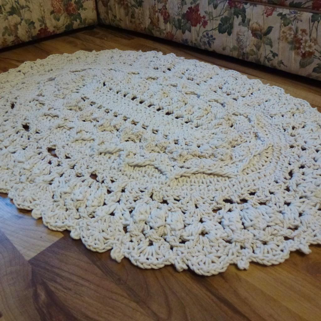 Осинка вязание крючком ковры 47