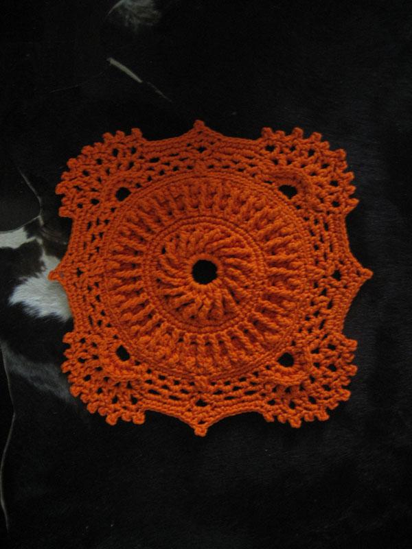 Рельефные ковры вязание крючком 9