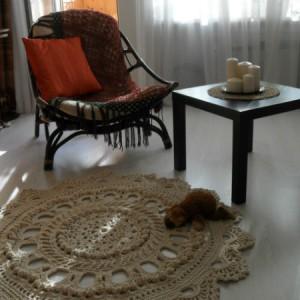 вязание ковров