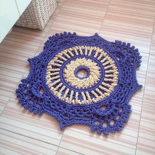 коврик Плитка