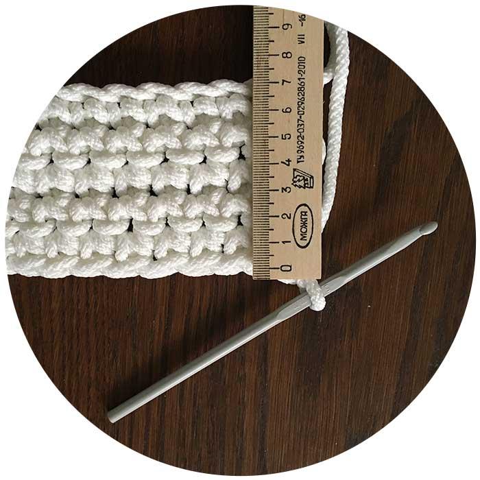 плотность вязания ковров