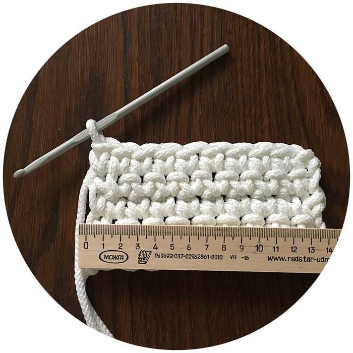 плотность вязания ковра