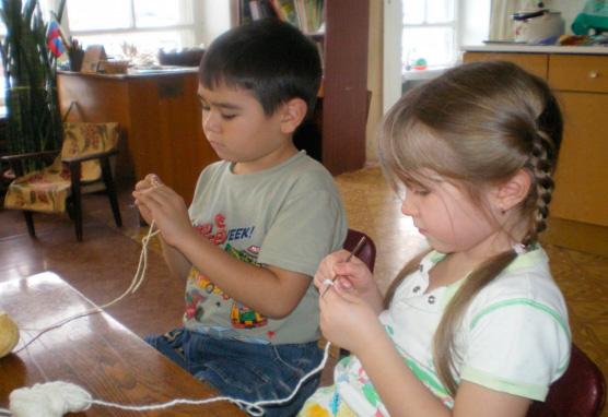 вязание-детей
